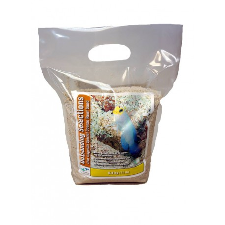 OUTSTANDING SELECTIONS Live Aragonite Special Coarse Reef Sand